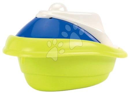 Articole de ștrand - Barcă cu motor mini Écoiffier galbenă-albastră de la 18 luni