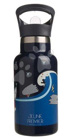 Outdoor boce za školu - Školská fľaša na vodu Drinking Bottle Sharkie Jeune Premier ergonomická luxusné prevedenie 17*7 cm JPDB021174