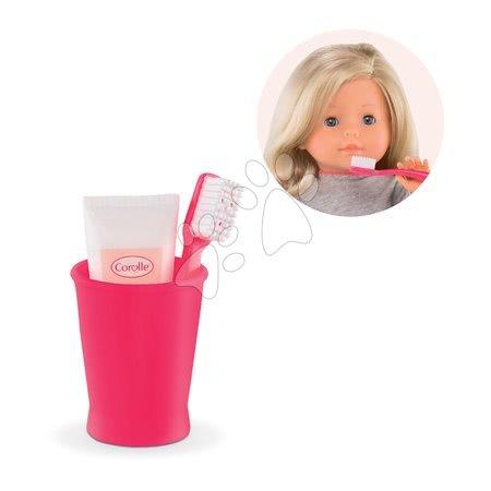 Zubná kefka s pastou Clean Teeth Ma Corolle pre 36 cm bábiku od 4 rokov