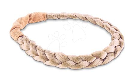 Čelenka Braid Headbands Ma Corolle blond pro 36cm panenku od 4 let