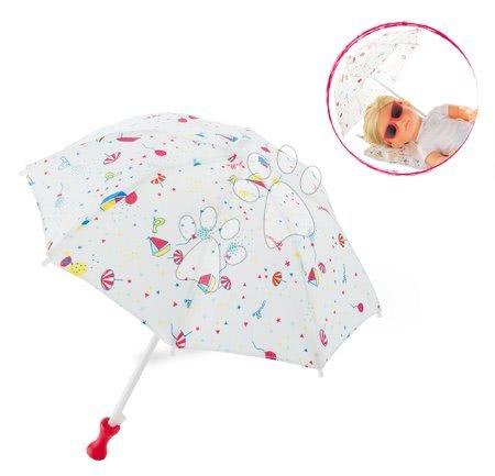 Dodatki za punčke in dojenčke - Senčnik za plažo Beach Umbrella Ma Corolle za 36 cm dojenčka od 4 leta