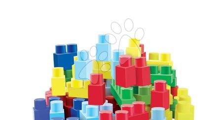 Razvoj čutov in motorike - Kocke v torbici Maxi Abrick Écoiffier modra s 50 kockami + 30 % brezplačno = 65 kock od 12 mes_1