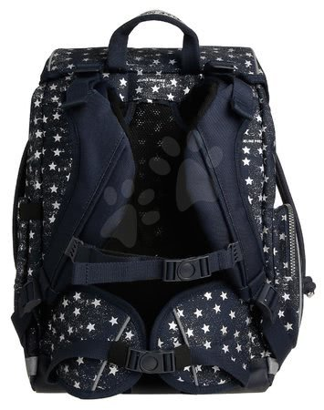 Šolske potrebščine - Šolski nahrbtnik velik Ergomax Stars Silver Jeune Premier ergonomski luksuzni dizajn_1