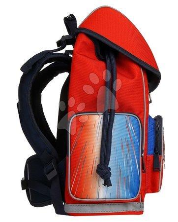 Šolske potrebščine - Školský batoh veľký Ergomaxx Racing Club Jeune Premier ergonomický luxusné prevedenie 39*26 cm JPERX21171_1