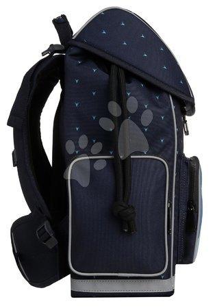 Šolske potrebščine - Šolska torba velika Ergomaxx Sharkie Jeune Premier ergonomska luksuzni dizajn 39*26 cm_1