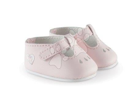 Pantofi roz Ankle strap Shoes Pink Mon Grand Poupon Corolle pentru păpușa de 36 cm de la 3 ani