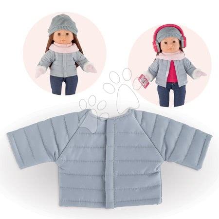 Oblečenie Padded Jacket Grey Ma Corolle pre 36 cm bábiku od 4 rokov