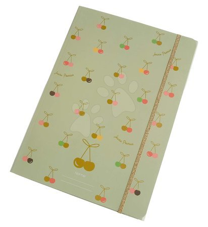 Fascikli - Školské dosky na zošity A4 File Folder Cherry Fun Jeune Premier elastické luxusné prevedenie JPFF020142
