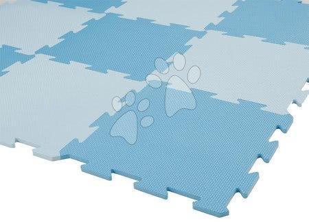 Puzzle din burete Lee Chyun covor de joacă pentru bebeluși cu 9 piese albastru de la 0 luni