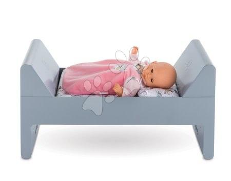 Posteljica Mon Premier Poupon Bébé Corolle z blazino in odejo za 30-42 cm dojenčka od 18 mes