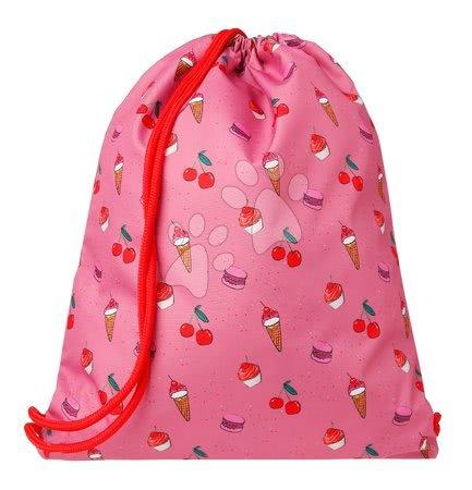 Vrećice za papuče - Školska vrećica za tjelesni i papuče Gym Bag Cherry Pop Jack Piers ergonomska luksuzni dizajn od 2 godine 36*44*10 cm_1