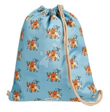 Vrećice za papuče - Školska vrećica za tjelesni i papuče Gym Bag Party Dogs Jack Piers ergonomska luksuzni dizajn od 2 godine 36*44*10 cm