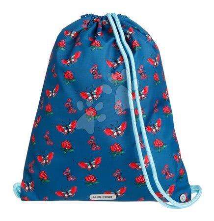 Vrećice za papuče - Školska vrećica za tjelesni i papuče Gym Bag Rose Garden Jack Piers ergonomska luksuzni dizajn od 2 godine 36*44*10 cm
