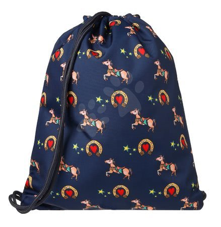 Vrećice za papuče - Školska vrećica za tjelesni i papuče Gym Bag Lucky Luck Jack Piers ergonomska luksuzni dizajn od 2 godine 36*44*10 cm_1