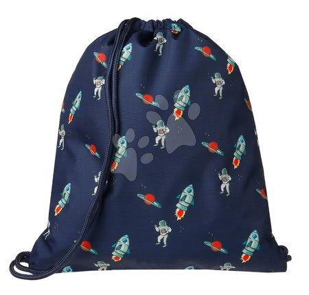 Vrećice za papuče - Školska vrećica za tjelesni i papuče Gym Bag Galactic Fun Jack Piers ergonomska luksuzni dizajn od 2 godine 36*44*10 cm_1