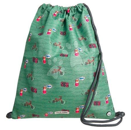Vrećice za papuče - Školský vak na telocvik a prezúvky Gym Bag BMX Jack Piers ergonomický luxusné prevedenie od 2 rokov 36*44 cm JPGY021240