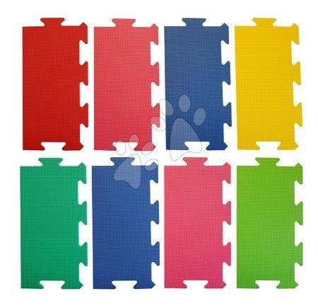 Podlahové puzzle pro miminka - Okraje pro FM604 pěnové podlahové puzzle Lee Chyun 8 dílů 30*15 cm od 0 měsíců