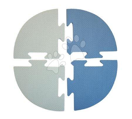 Podlahové puzzle pro miminka - Roh pro FM946-1B pěnové podlahové puzzle Lee Chyun modré od 0 měsíců