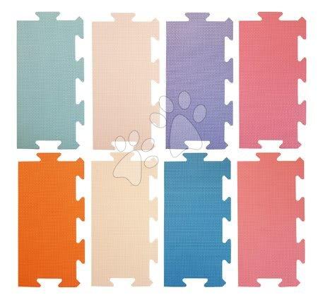 Podlahové puzzle pro miminka - Okraje pro FM946-1SF pěnové podlahové puzzle Lee Chyun pastelové 8 dílů 30*15 cm od 0 měsíců