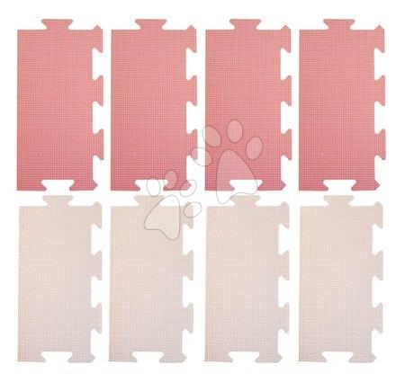 Podlahové puzzle pro miminka - Okraje pro FM946-1P pěnové podlahové puzzle Lee Chyun 8 dílů 30*15 růžové od 0 měsíců