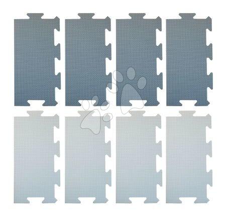 Podlahové puzzle pro miminka - Okraje pro FM946-1B pěnové podlahové puzzle Lee Chyun modré 8 dílů 30*15 cm od 0 měsíců