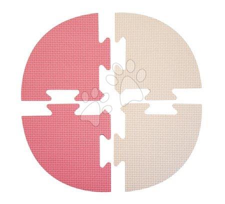 Podlahové puzzle pro miminka - Roh pro FM946-1P pěnové podlahové puzzle Lee Chyun růžové od 0 měsíců