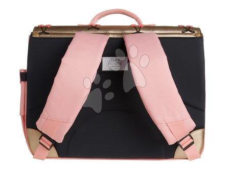 Školske aktovke - Školska aktovka It bag Midi Cherry Pompon Jeune Premier ergonomska luksuzni dizajn 30*38 cm_1
