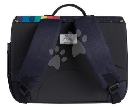 Školske aktovke - Školska aktovka It bag Midi Unicorn Gold Jeune Premier ergonomska luksuzni dizajn 30*38 cm_1