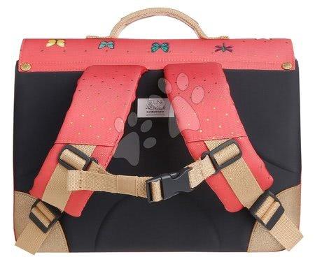 Školske aktovke - Školska aktovka It bag Mini Butterfly Pink Jeune Premier ergonomska luksuzni dizajn_1