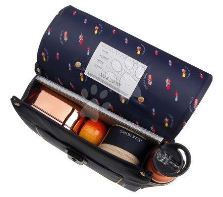 Školske aktovke - Školská aktovka It bag Mini Icons Jeune Premier ergonomická luxusné prevedenie 27*32 cm JPITN21167_1