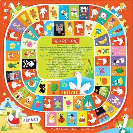Spoločenské hry - Spoločenská hra Ludo Game Set Snakes&Ladder Janod vo francúzštine od 5 rokov_1