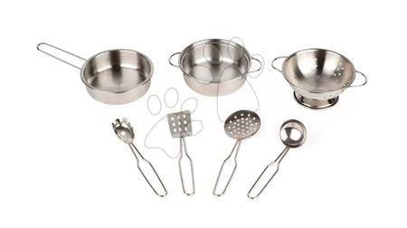 Riad do detskej kuchynky Janod pochrómovaný 7 dielov