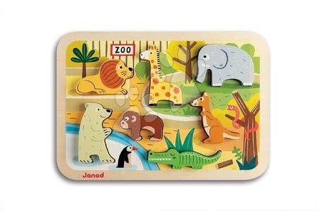 J07022 a janod drevene puzzle