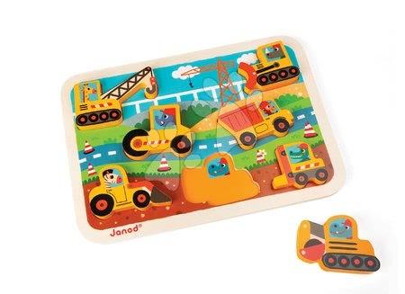 J07077 a janod drevene puzzle