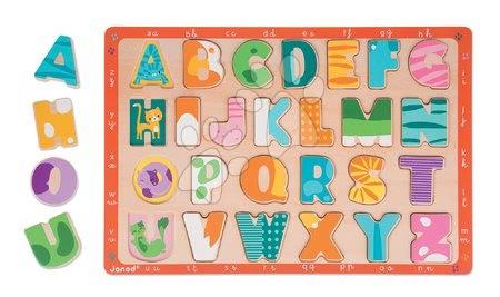 J07086 a janod drevene puzzle