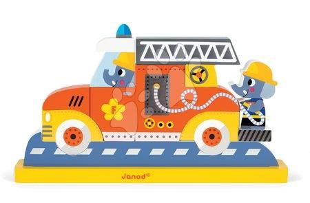 J08027 a janod drevene puzzle