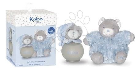 Kaloo - Toaletní voda pro nejmenší Blue Maxi Fluffy Set Kaloo Scented Water 100 ml modrý medvěd v dárkové krabičce od 3 měsíců