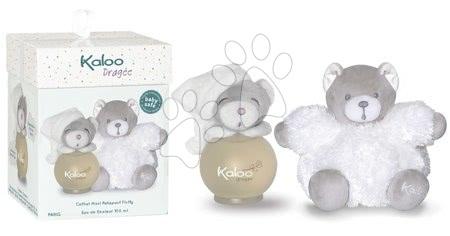 Kaloo - Toaletní voda pro nejmenší Dragée Maxi Fluffy Set Kaloo Scented Water 100 ml bílý medvěd od 3 měsíců