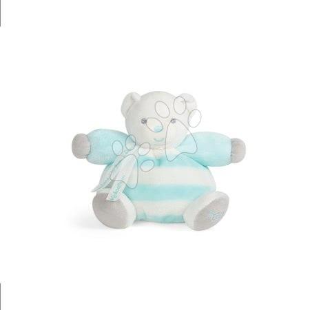 Plyšový medvedík BeBe Pastel Chubby Kaloo 18 cm pre najmenšie deti v darčekovom balení tyrkysovo-krémový