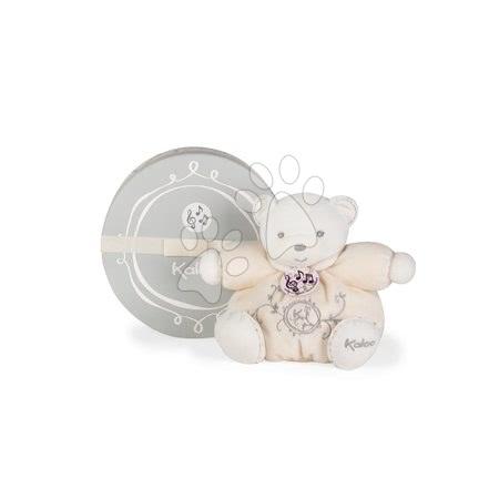 Plyšoví medvědi - Plyšový medvídek zpívající Perle Chubby Kaloo 18 cm v dárkové krabičce krémový od 0 měsíců_1
