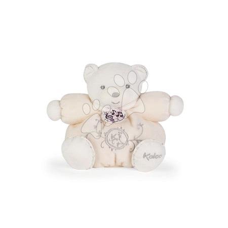Plyšoví medvědi - Plyšový medvídek zpívající Perle Chubby Kaloo 18 cm v dárkové krabičce krémový od 0 měsíců