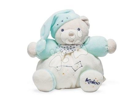 Plyšoví medvědi - Plyšový medvěd Petile Etoile Chubby Bear Kaloo malý tyrkysový od 0 měsíců
