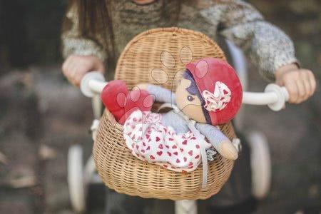 Handrové bábiky - Bábika pre bábätká Jade K Tendresse Kaloo 32 cm v srdiečkových šatách z jemného textilu v darčekovom balení od 0 mes_1