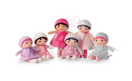 Bábiky pre dievčatá - Bábika pre bábätká Lise K Tendresse Kaloo 18 cm v bodkovaných šatách z jemného textilu v darčekovom balení od 0 mes_1