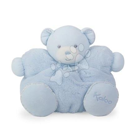 Plyšoví medvědi - Plyšový medvídek Perle-Chubby Bear Kaloo s chrastítkem 30 cm v dárkovém balení modrý