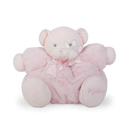 Plyšoví medvědi - Plyšový medvídek Perle-Chubby Bear Kaloo s chrastítkem 30 cm v dárkovém balení růžový