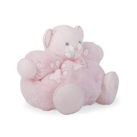 Plyšoví medvědi - Plyšový medvídek Perle-Chubby Bear Kaloo s chrastítkem 30 cm v dárkovém balení růžový_1