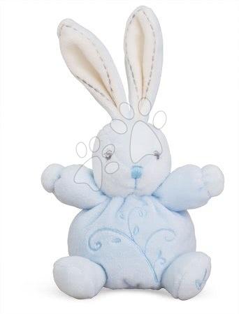 Plyšový zajačik Perle-Mini Chubbies Rabbit Kaloo 12 cm pre najmenších modrý