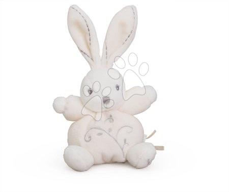 Plyšový zajačik Perle-Mini Chubbies Rabbit Kaloo 12 cm pre najmenších krémový