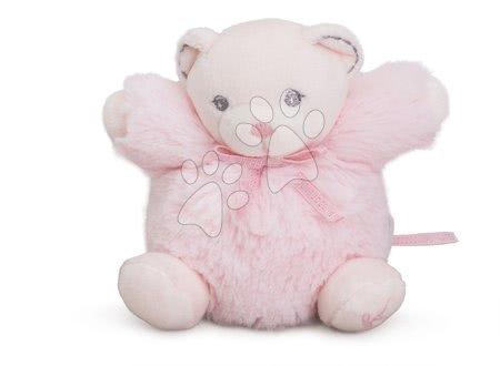 Plyšový medvedík Perle-Mini Chubbies Bear Kaloo 12 cm pre najmenších ružový